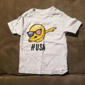 Unisex t-shirt size 2T